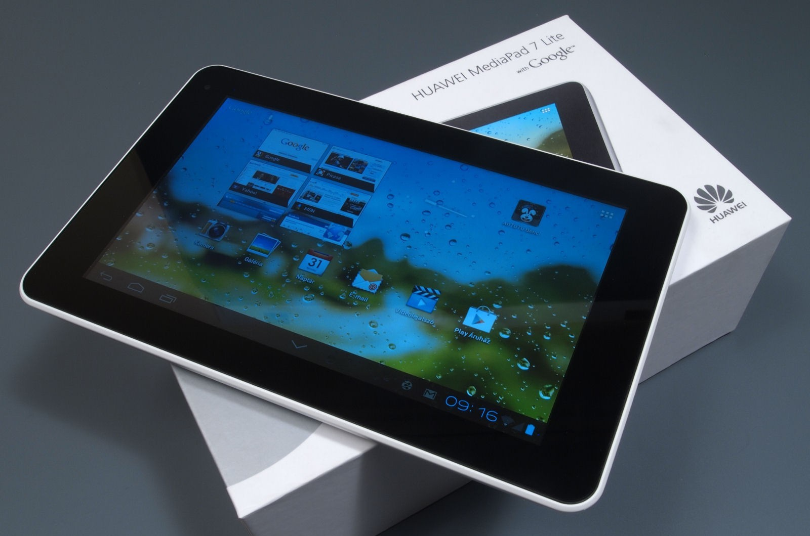 Обзор Huawei MediaPad 7 Lite