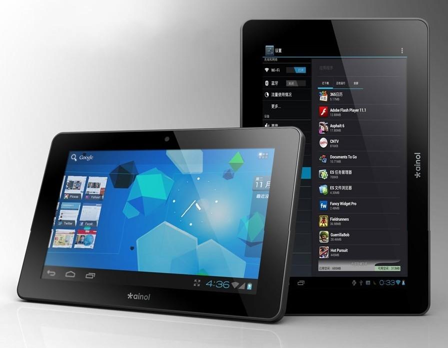 Обзор планшетов серии Ainol Novo 7