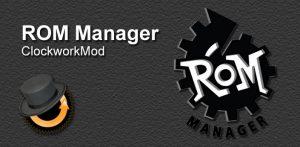 Перепрошивка планшета с помощью ROM Manager