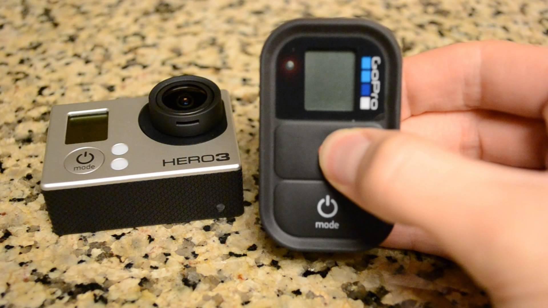 Подключение GoPro