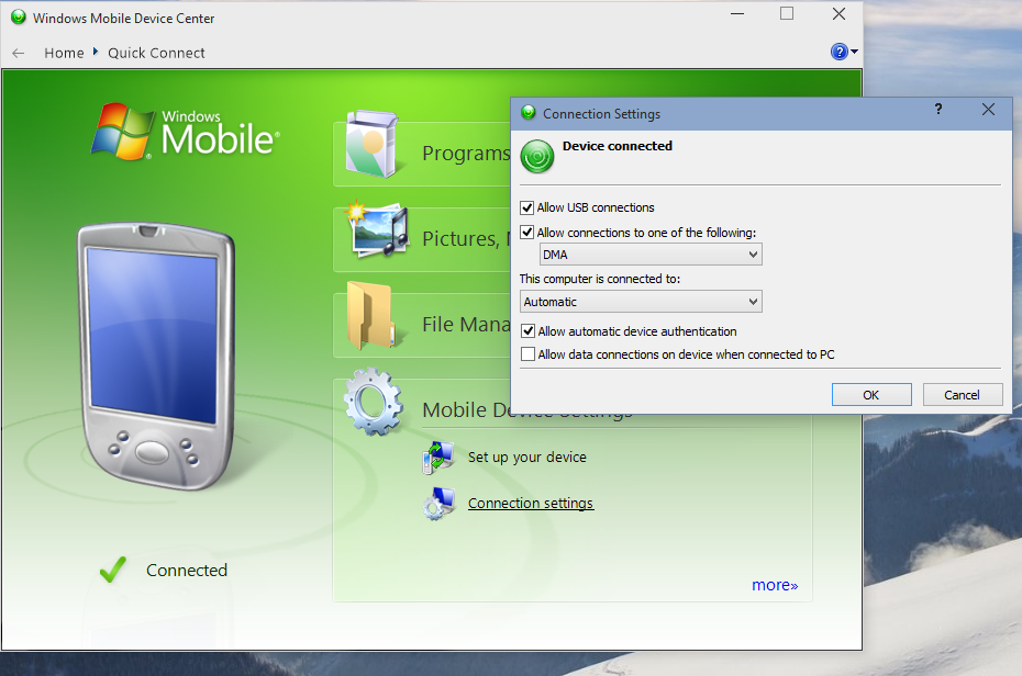 Эмулятор Windows Mobile
