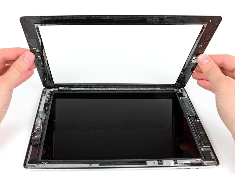 Как заменить экрана на планшете